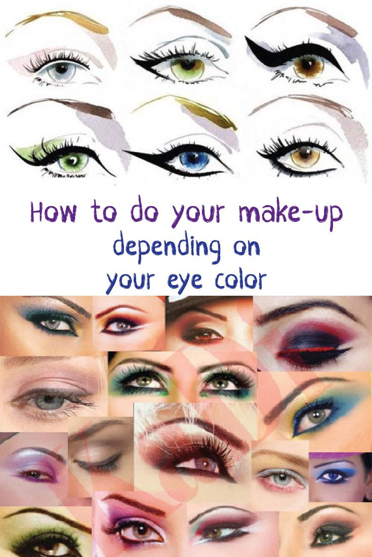 How To Do Your Make-up Depending On Your Eye Color