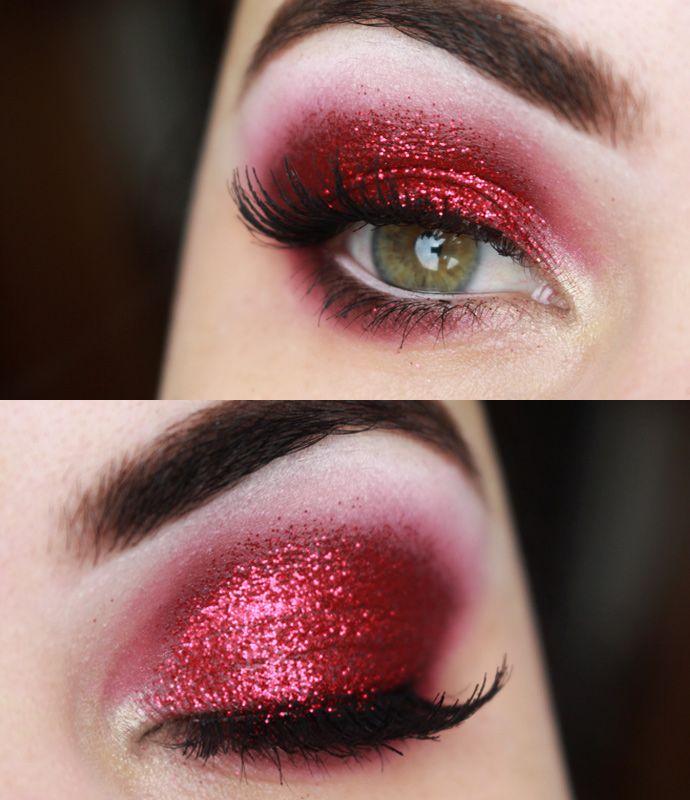 Makeup Tutorial Lady Gaga Super Bowl Maquiagem Vermelha