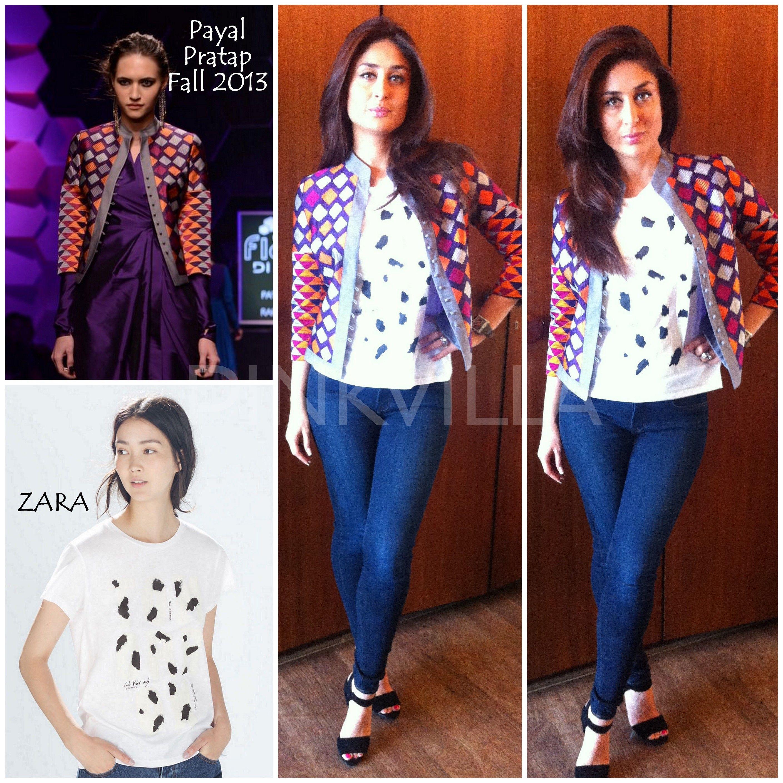 Yay Or Nay Kareena Kapoor In Payal Pratap And Zara Fashion Stylish Summer Outfits Bollywood Fashion