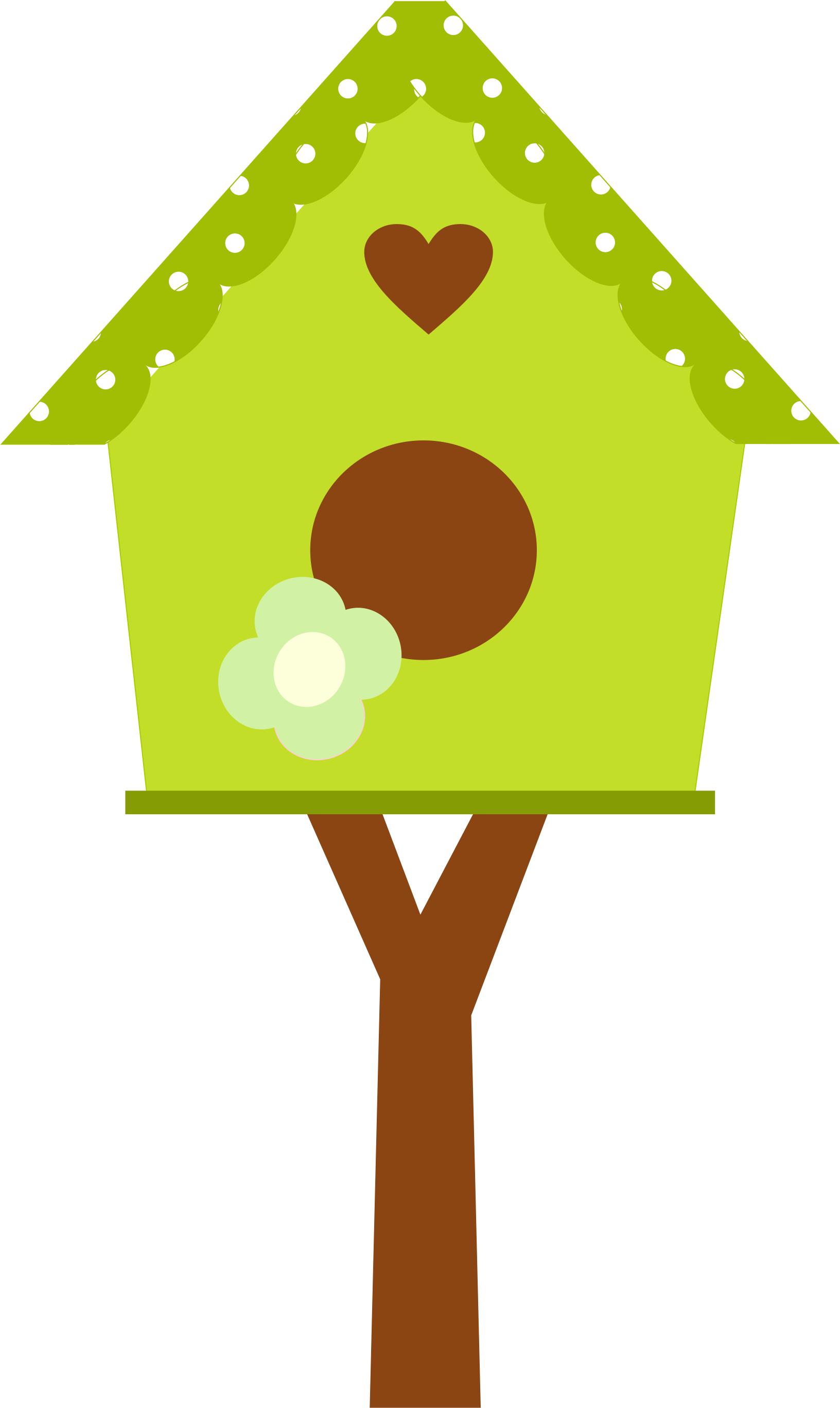 Bird House Clip Art