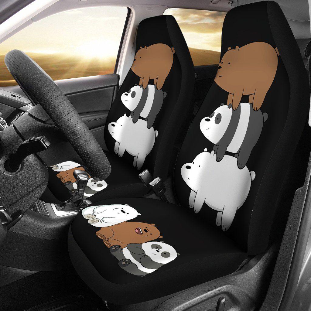 We bare bears car seat covers   Bare bears, We bare bears ...