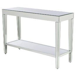 Mirrored Console Table Target 157 49 Mirrored Console Table
