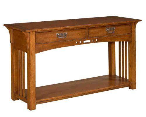 Broyhill Artisan Ridge Sofa Table By Broyhill 356 00 1