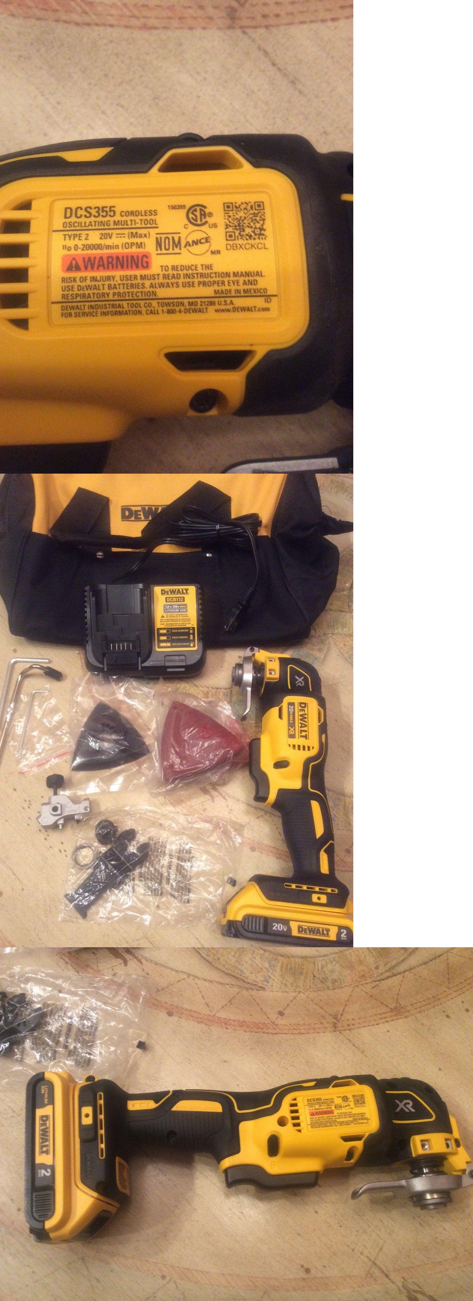 Power Tool Sets 177000 Dewalt Dcs355d1 20v Max Xr Lithium Ion