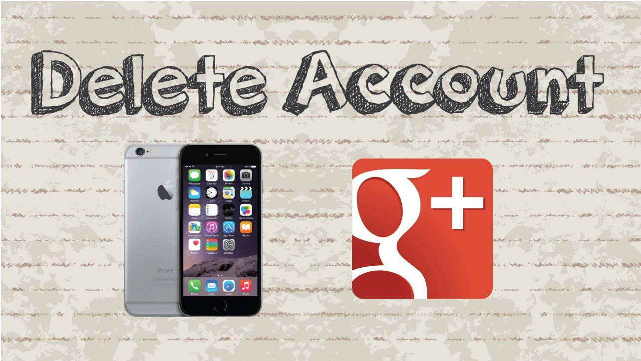 How to delete Google Plus account Mobile App (Android