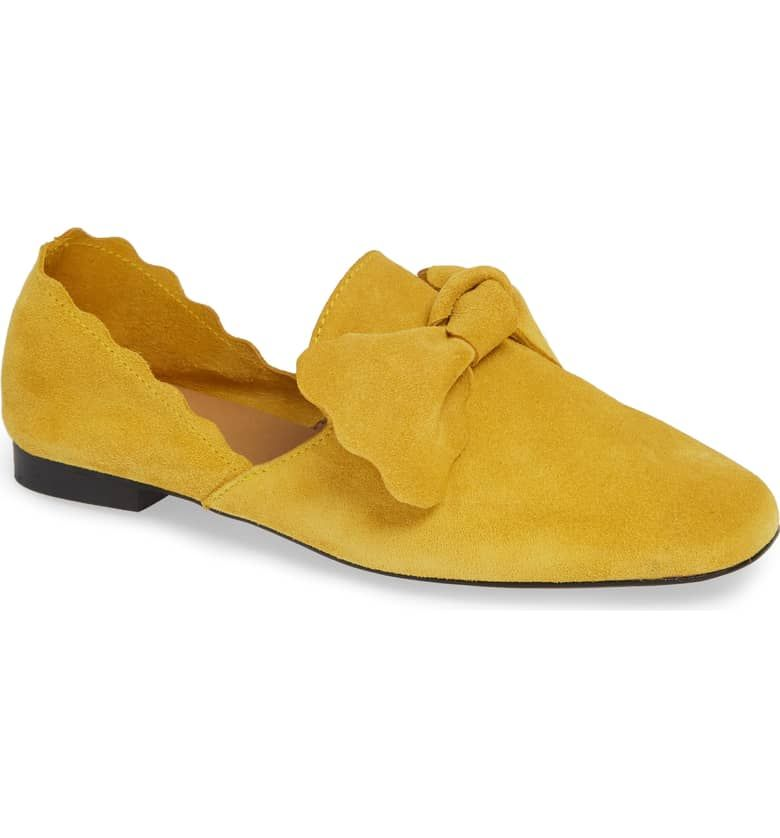 0908f518a5c nordstrom.com Giovana Flat, Main, color, MUSTARD SUEDE   My shoe ...