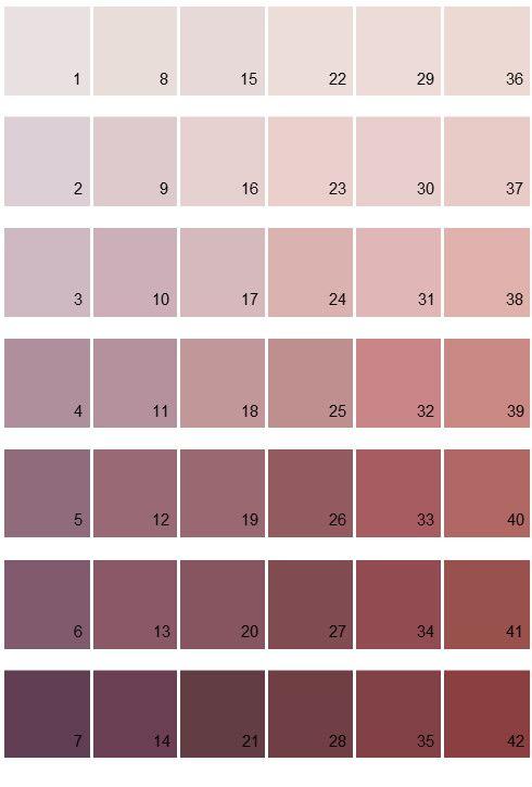 Sherwin Williams Paint Colors - Color Options Palette 01