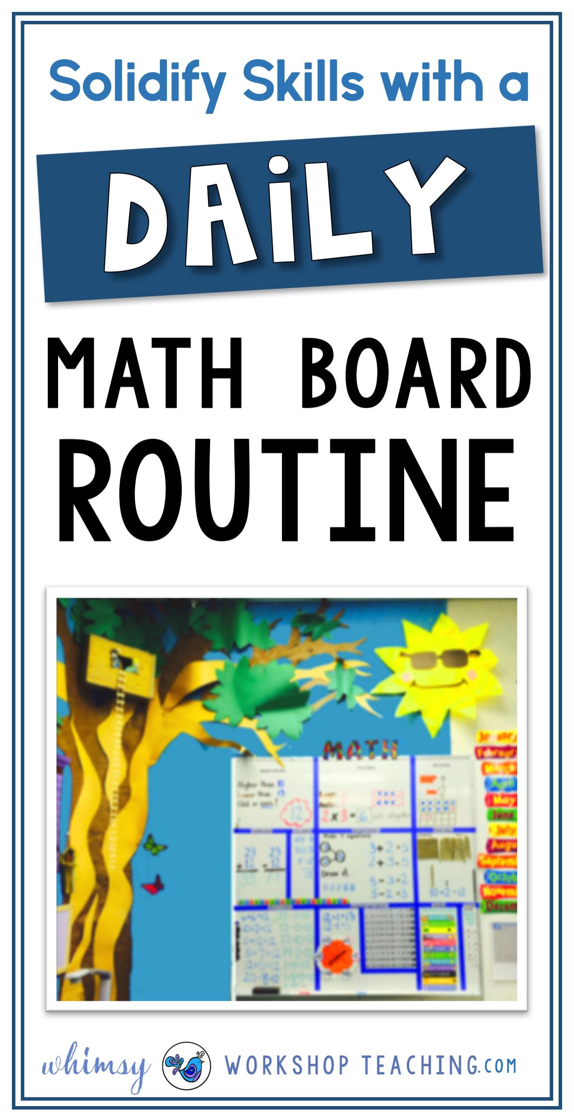 Math Board Daily Practice