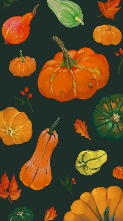Halloween Pumpkins Phone Lock Screen Home Screen Wallpaper Etsy In 2021 Pumpkin Wallpaper Iphone Wallpaper Phone Backgrounds
