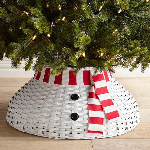 Snowman Tree Collar Christmas Time Snowman tree, Christmas, Tree