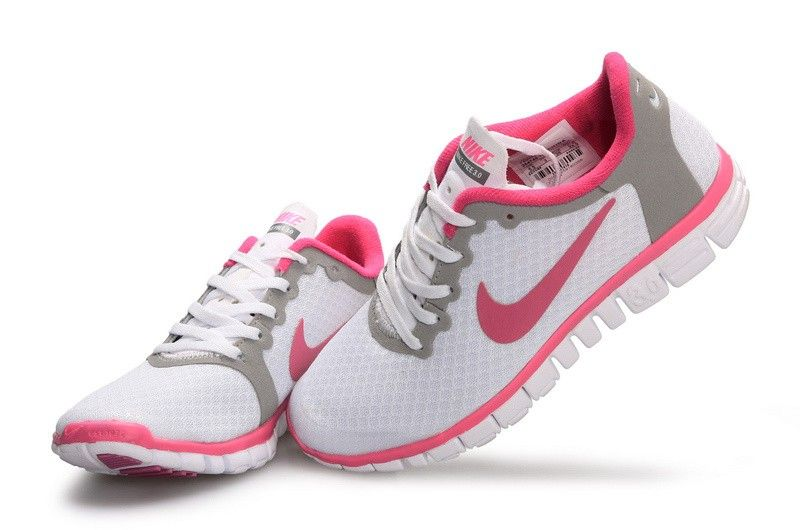 Nike Free 5.0 Damen Weiß Pink