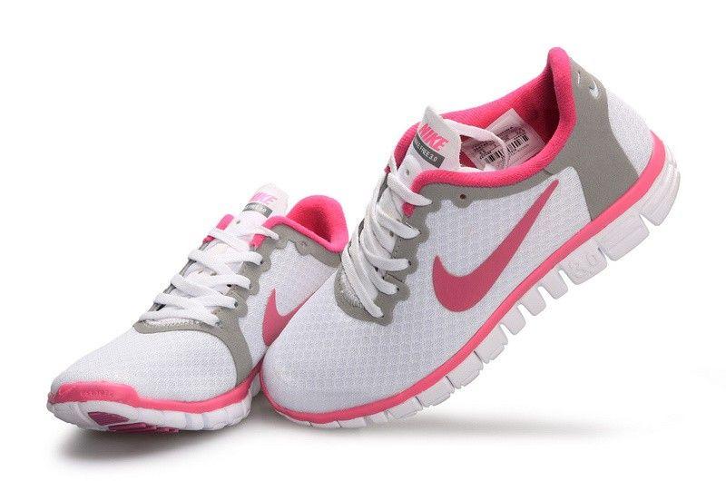 Nike Free 3.0 Damen Pink Weiß