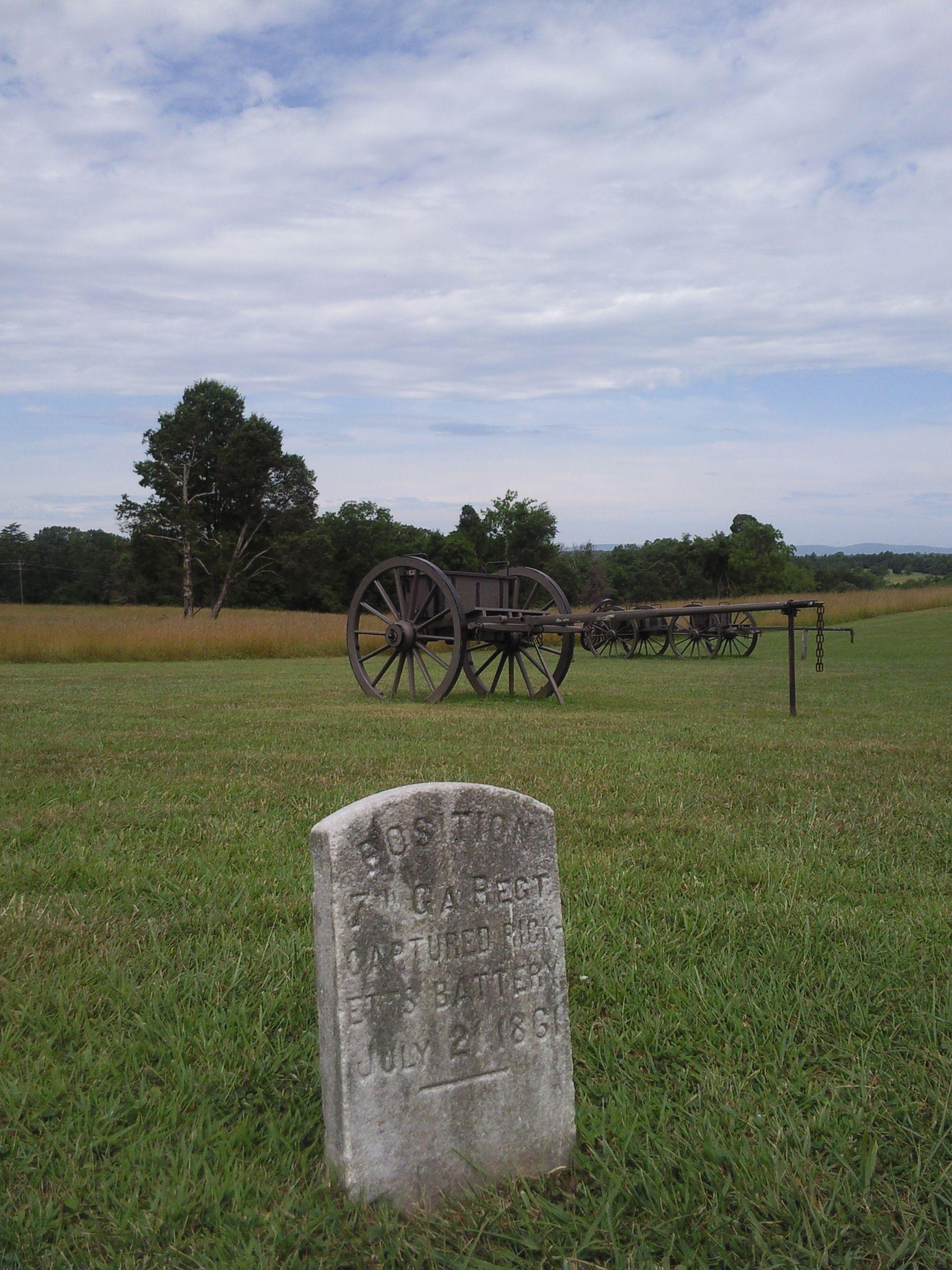 Bull Run Battlefield, Manassas National Battlefield Park