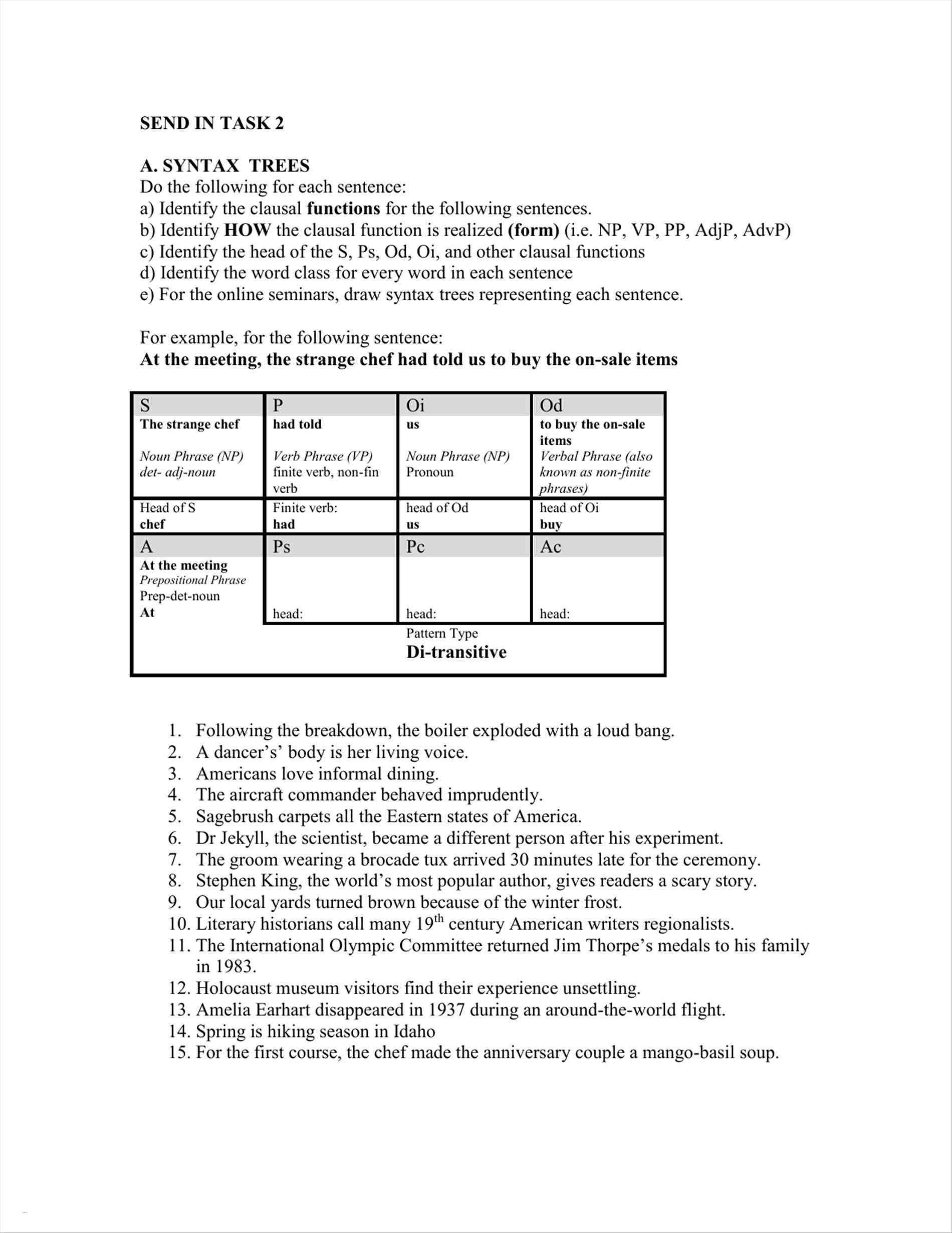 5 Accomplished Nouns Worksheet Di
