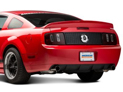Shr Mustang Honeycomb Decklid Panel S197 100 05 09 All Ford Classic Cars Blackout Kits Blackout Panels
