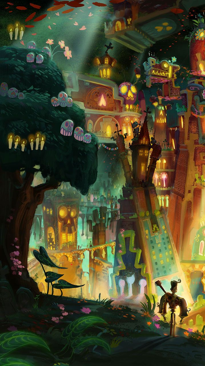 Idea By Trees On Fairytale In 2020 Book Of Life Movie Book Of