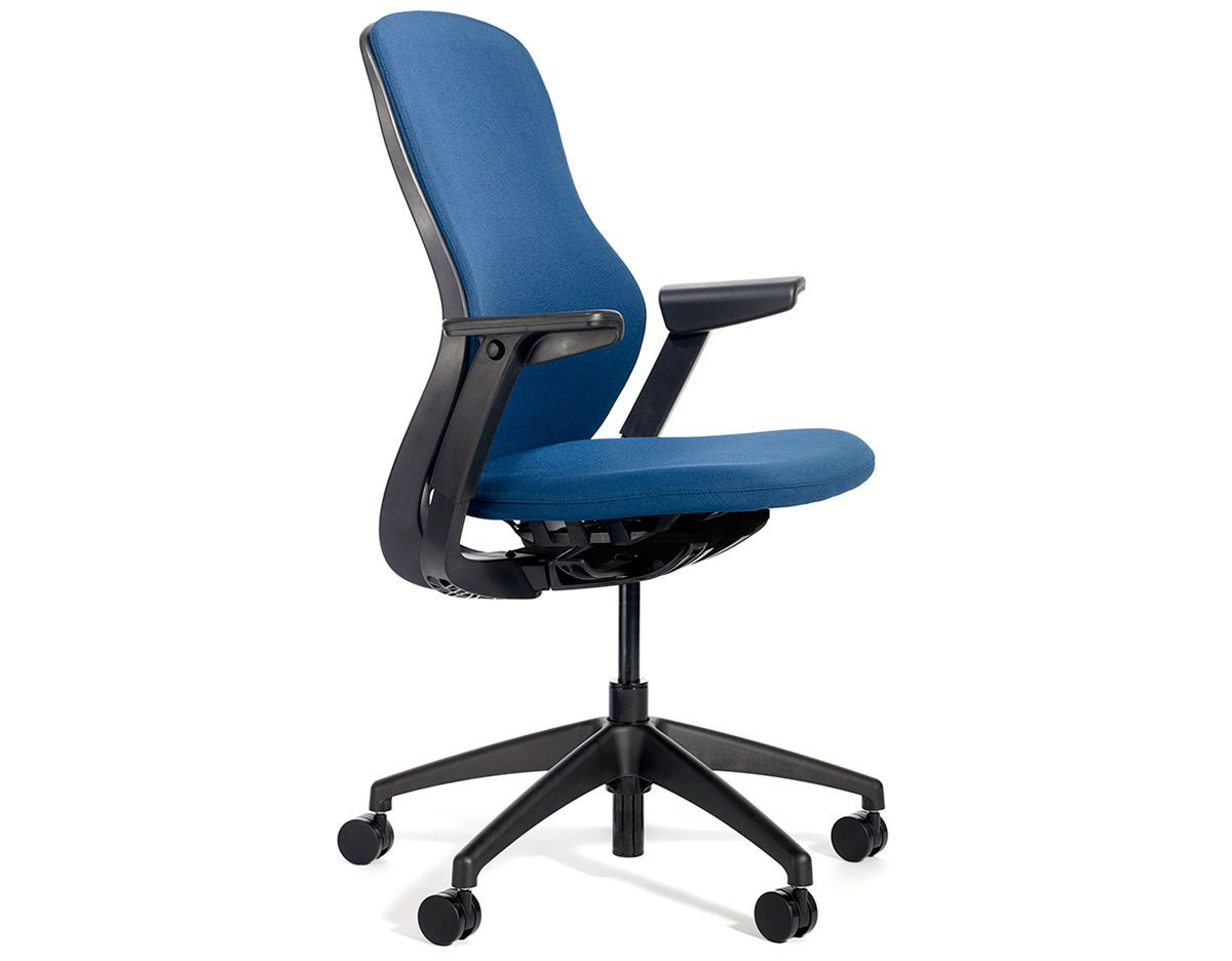 regeneration fully upholstered work chair by formway for knoll