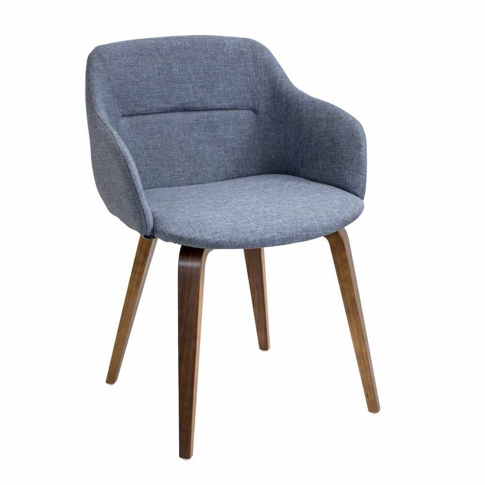 Sink Into Comfort And Let The Lumisource Campania Chair Wrap Around You In Classic Style With Modern Chair Fabric Mid Century Modern Chair Upholstered Chairs