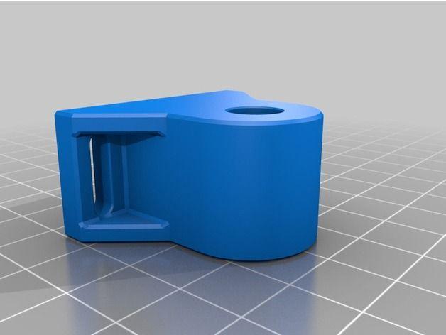Grundplattenbefestigung für A8 3D Printer Prusa i3 by