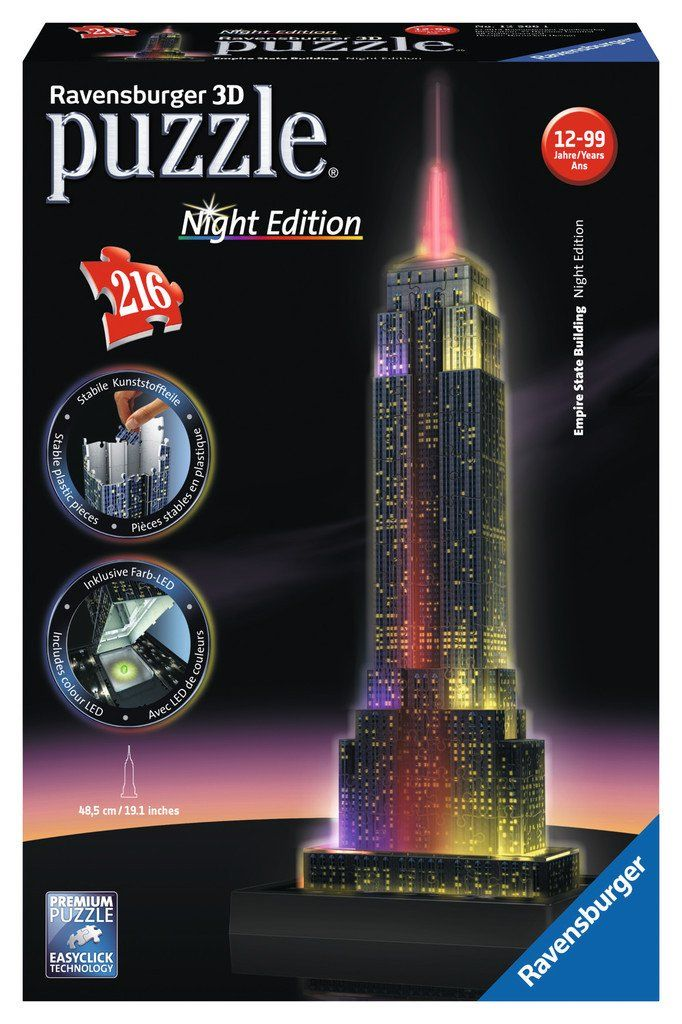ravensburger puzzle empire state building bei nacht