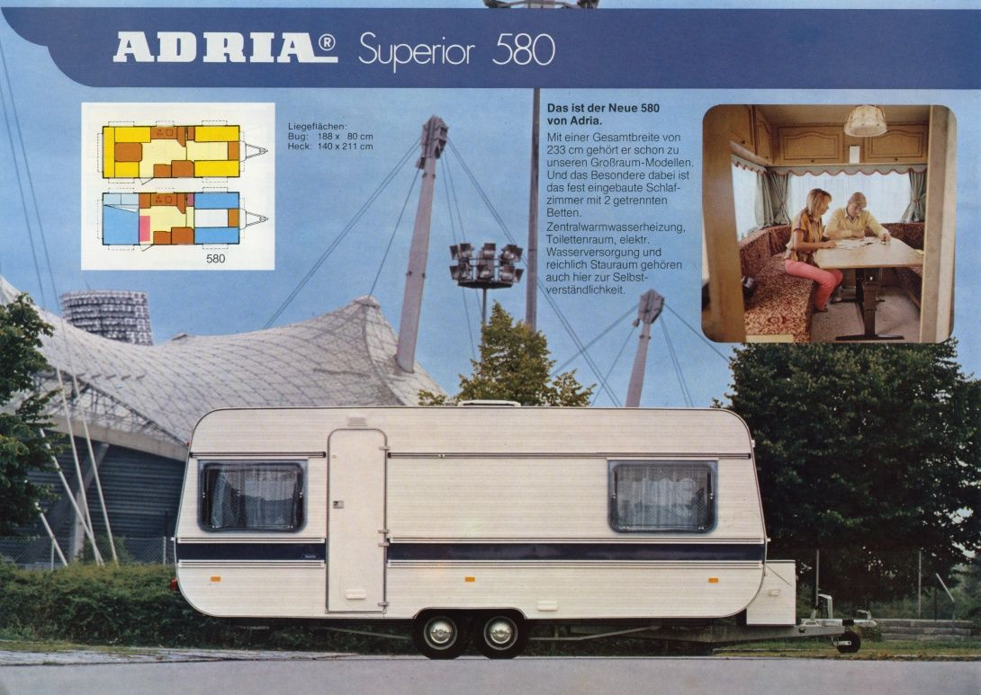 Adria 19 19  Caravan, Wohnmobil, Wohnwagen