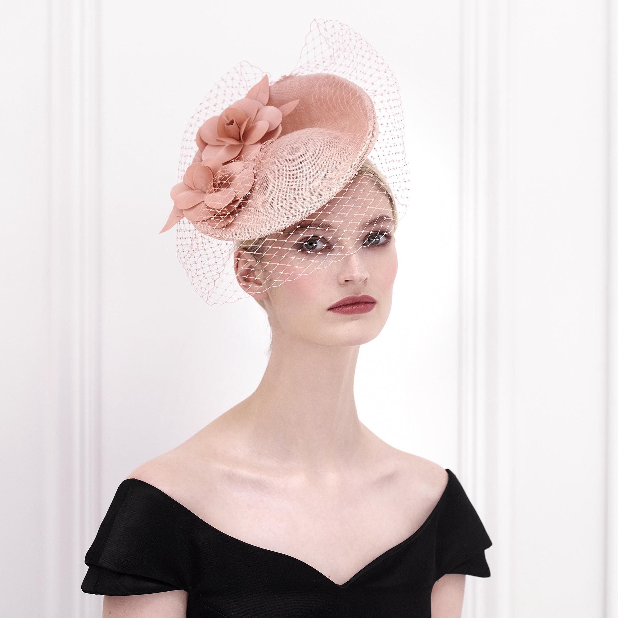 2012b1f85b546 A neat perching hat designed by Sylvia Fletcher. The gorgeous