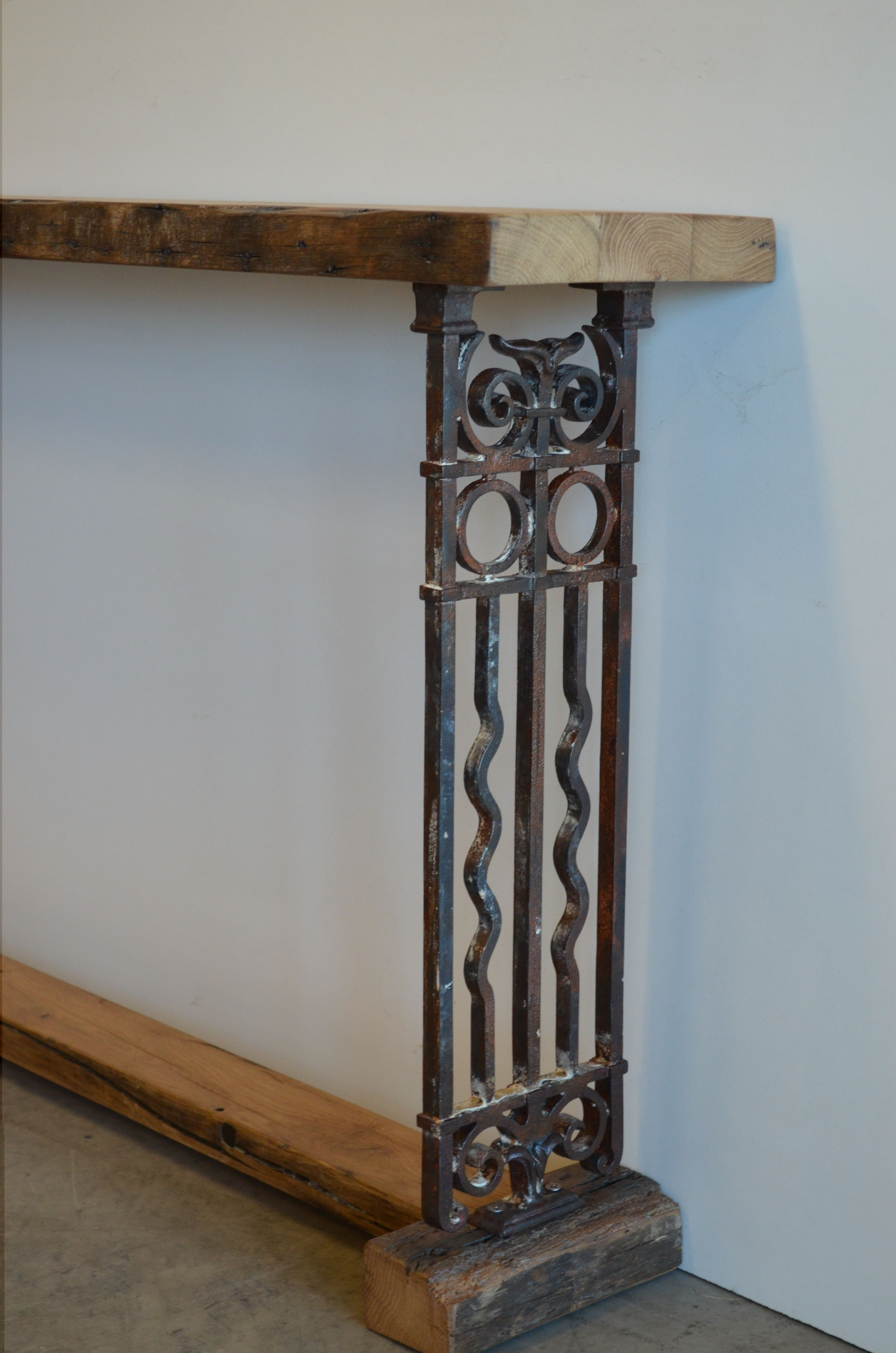 Victorian Reclaimed Timber And Cast Iron Are Used To Make Our Unique  Furniture Pieces At The General Store!