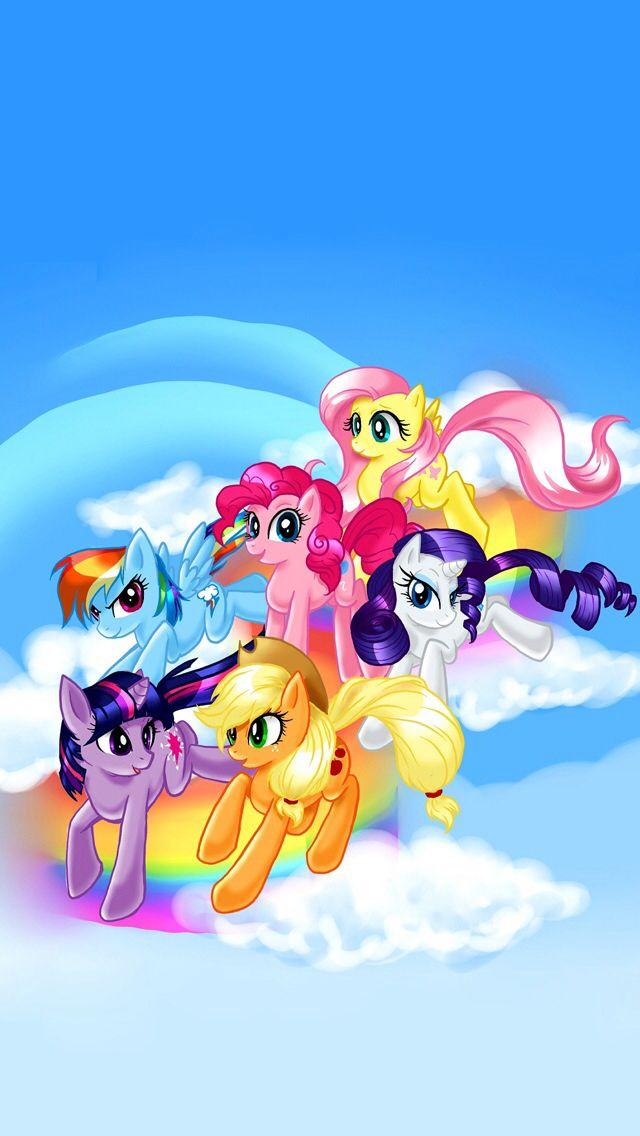 My Little Pony Wallpaper Ilustrasi Karakter Kuda Poni Seni Animasi