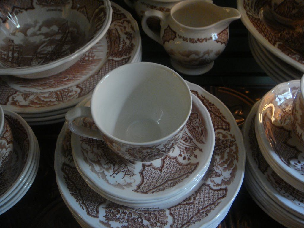 History 101 Ceramic Materials Dinnerware Tea Companies