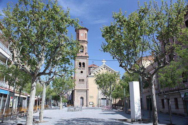 Placa De La Vila Sant Feliu De Llobregat Provincia De Barcelona