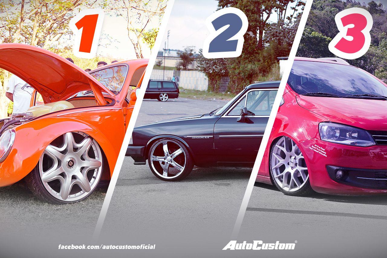 Os carros mais curtidos de janeiro! Algum favorito? Clique para ver as fotos e saber mais
