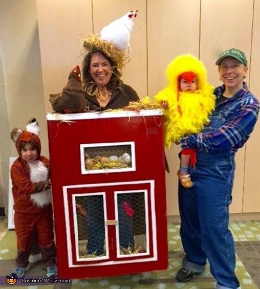 Fox in the Henhouse - Halloween Costume Contest at Costume-Works - halloween costume ideas for family