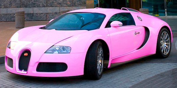breast cancer awareness month pink supercar special. Black Bedroom Furniture Sets. Home Design Ideas
