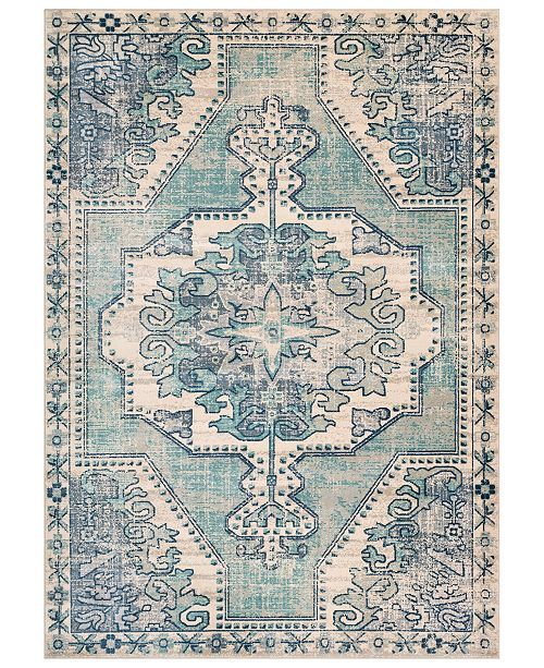 Surya Bohemian Bom 2301 Teal 7 10 X 10 3 Area Rug Reviews