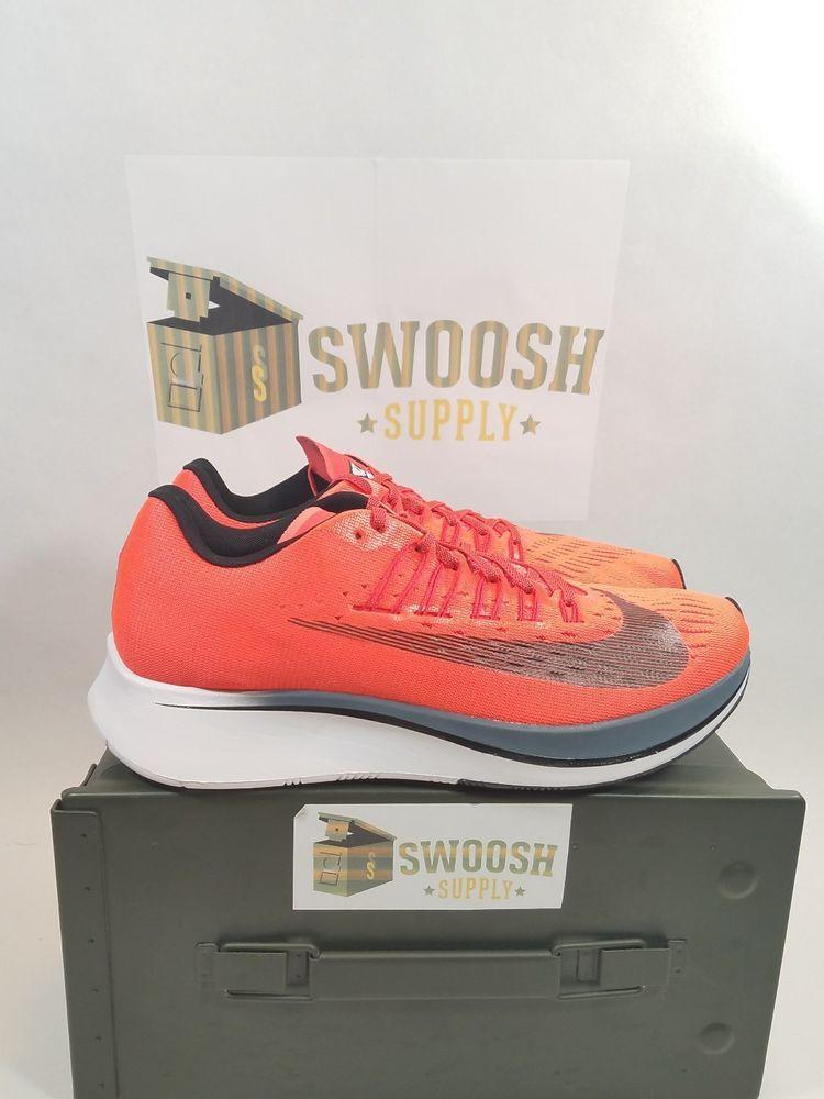 6ca8e75ff498 Nike Zoom Fly Bright Crimson Black Blue Fox Orange Size 9 880848 614  Nike   AthleticSneakers