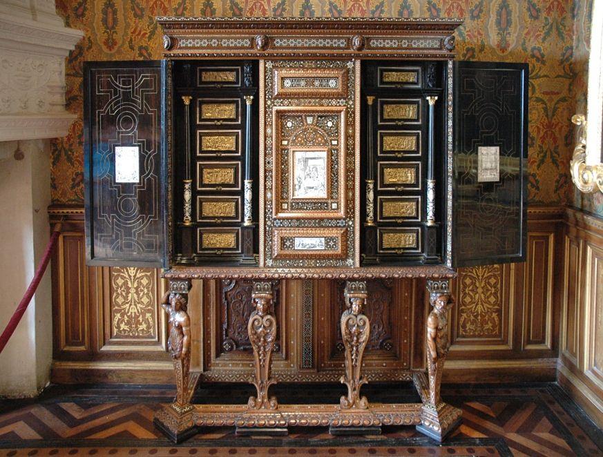 Le Cabinet Italien De Chenonceau Chateau De Chenonceau Mobilier De France Chateau France