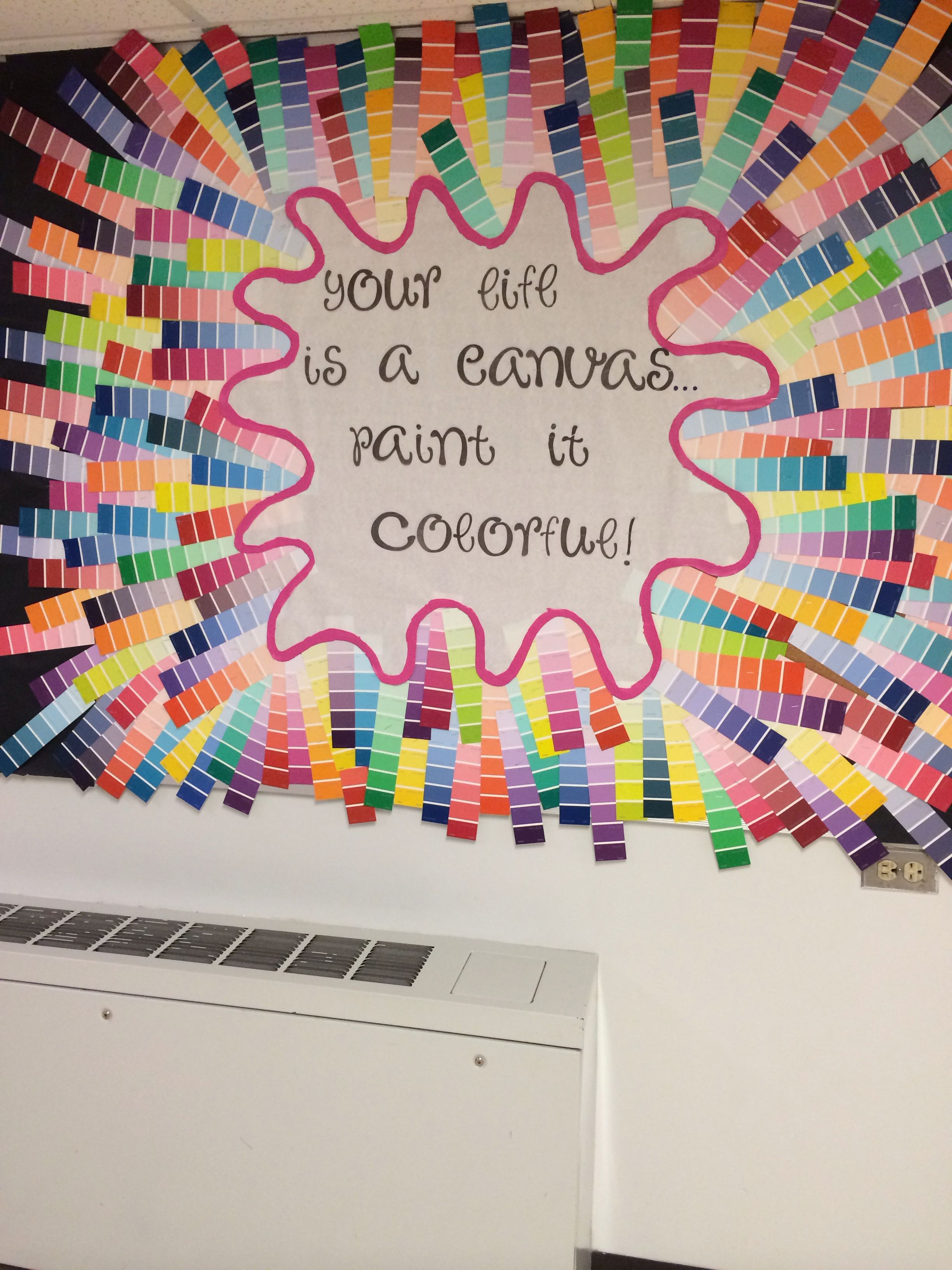 Use this idea for September bulletin board. Things the ...