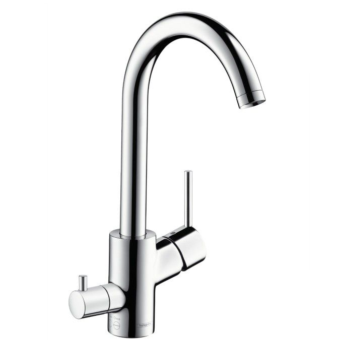 Hansgrohe Talis S Single Lever Kitchen Mixer Dn15 With Device Shut Off Valve Hansgrohe Kitchen Mixer Kitchen Taps