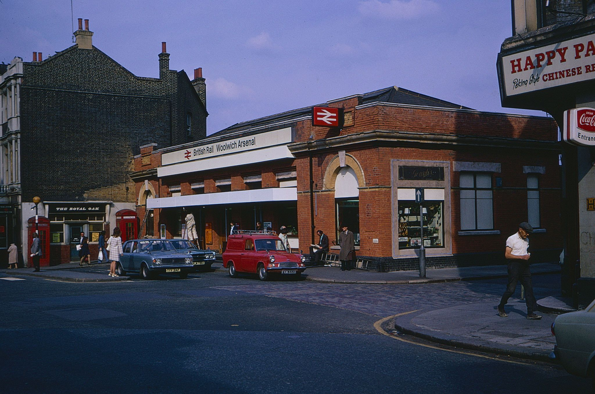 Woolwich Arsenal Station In 1974 Woolwich Arsenal Old London