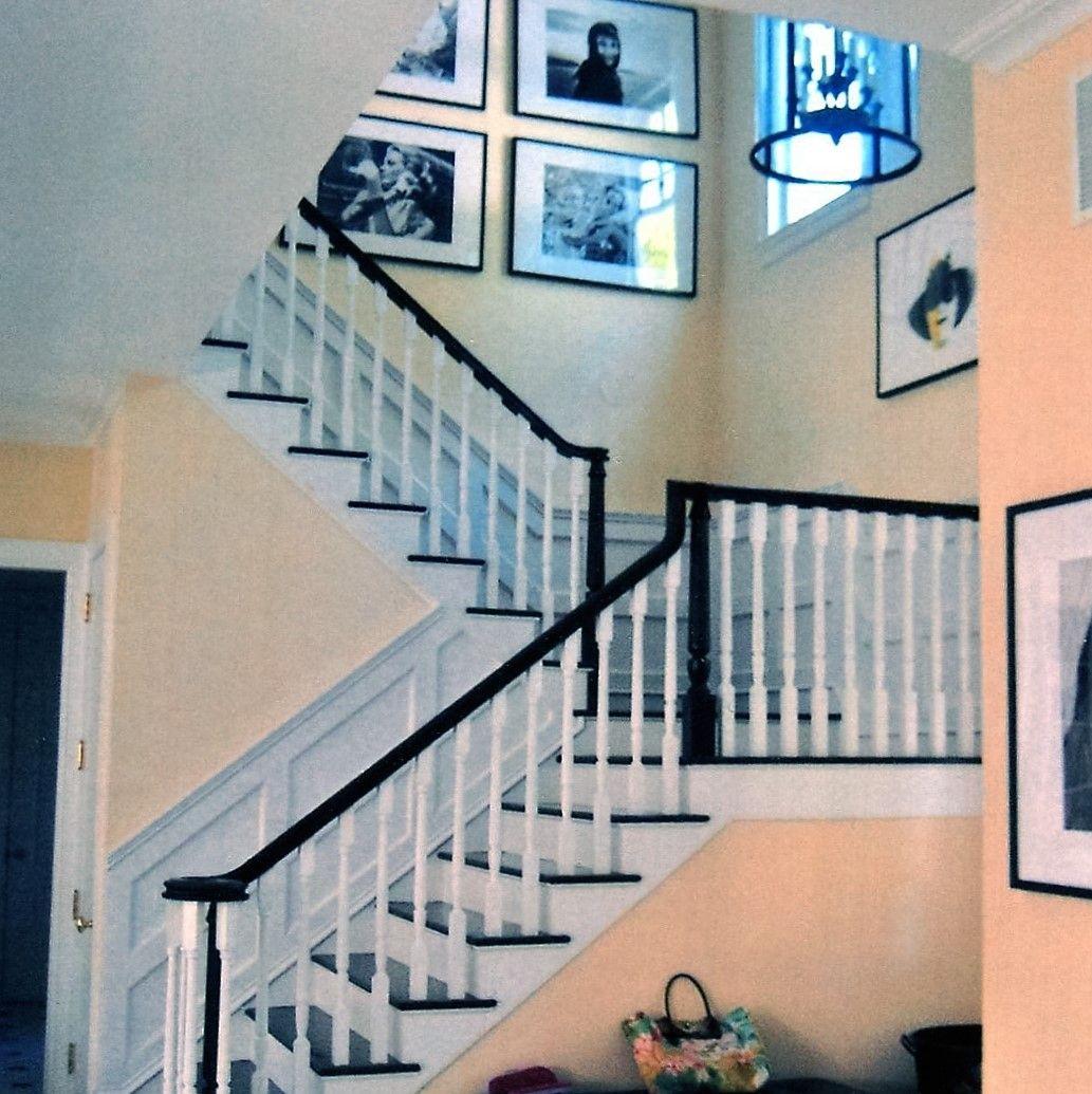 Le Treppenaufgang wunderschöner treppenaufgang htons style