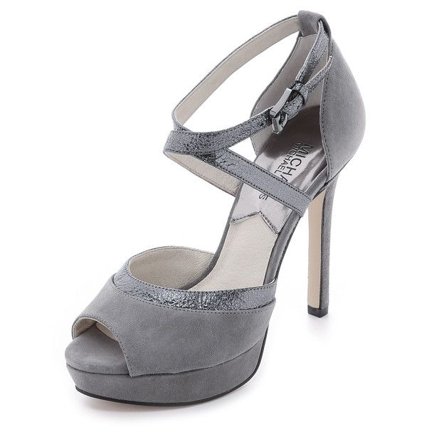 Platform pumps, Suede leather shoes