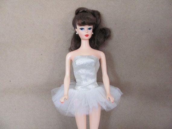 Vintage Barbie Clothes 1960 39 S Barbie Ballerina Outfit 989 Ballerina Outfit And Accessories Vinta Vintage Barbie Clothes Ballerina Outfit Vintage Barbie