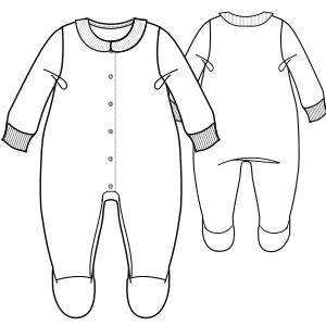 Modelos de ropa patrones para todas las tallas Body 6673