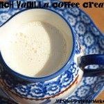 French Vanilla Coffee Creamer #frenchvanillacreamerrecipe
