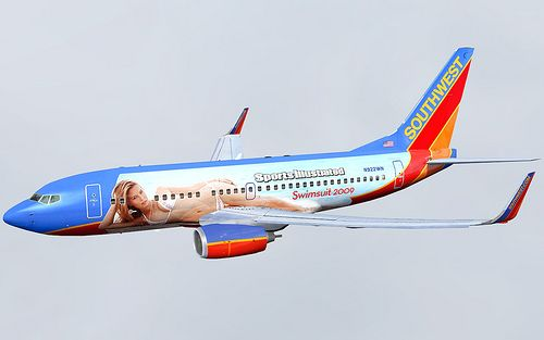 Southwest Airlines Boeing B737 7h4 Sports Illustrated One Bar