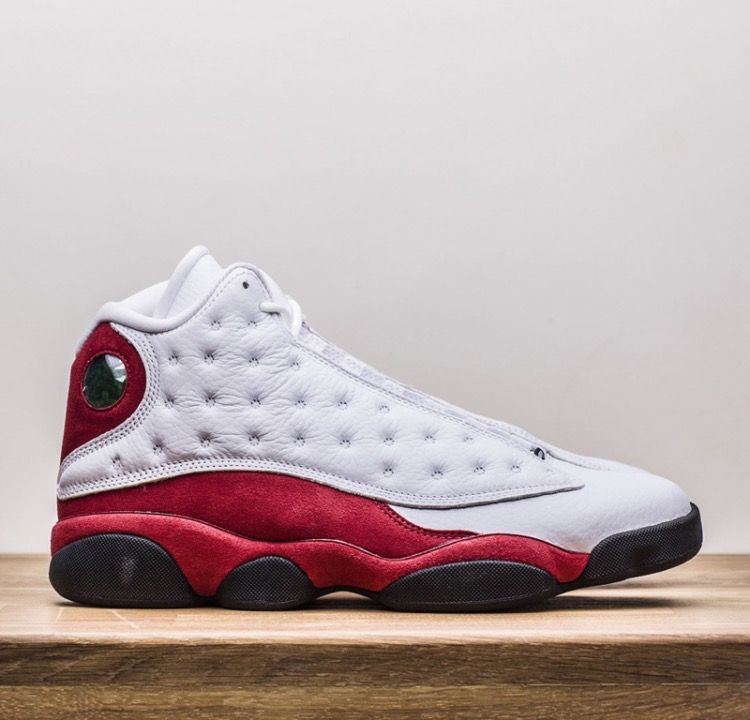 cheaper 52e9c 37cfb Nike Air Jordan 13 Retro OG (414571-122) Chicago 2017 White Varsity Red