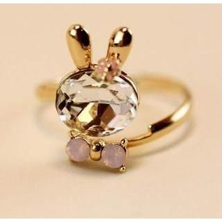 Buy 'Best Jewellery – Gemstone Rabbit Ring' with Free International Shipping at YesStyle.com. Browse and shop for thousands of Asian fashion items from China and more!