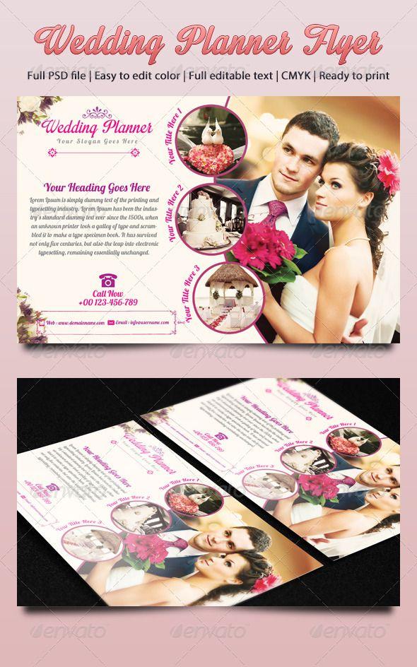Wedding ExpoShow Flyer Template III – Wedding Flyer