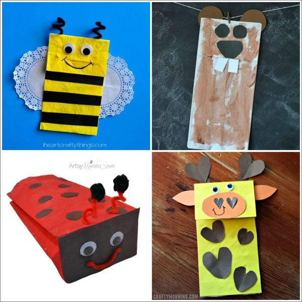 paper bag craft ideas for kids