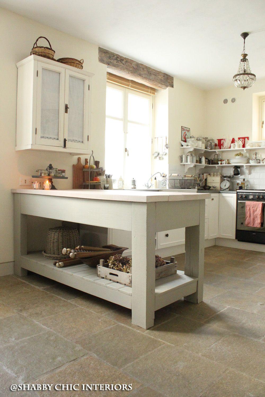 Shabby Chic Interiors: Il bancone della mia cucina | Cucina ...